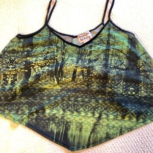 Forest-print Cami 🌲